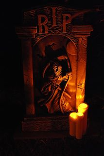 Tombstone by Candlelight
